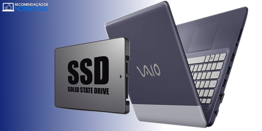 Notebooks com SSD