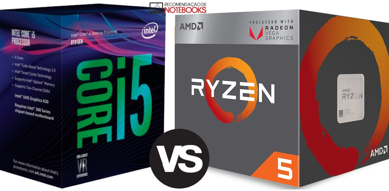 AMD Ryzen 5 2500u vs i5 8250u