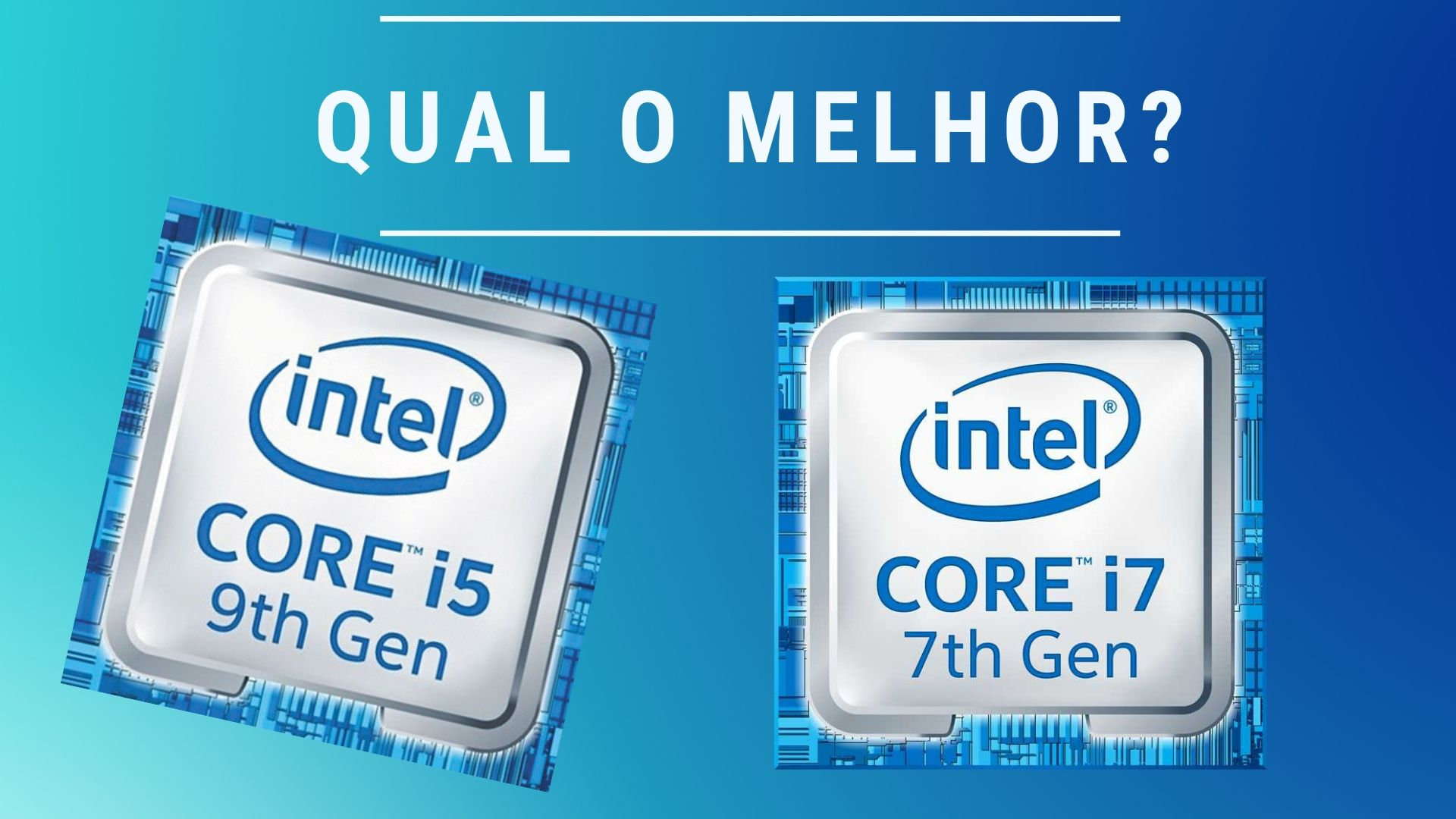 Intel Core i5 9300H vs i7 7700HQ